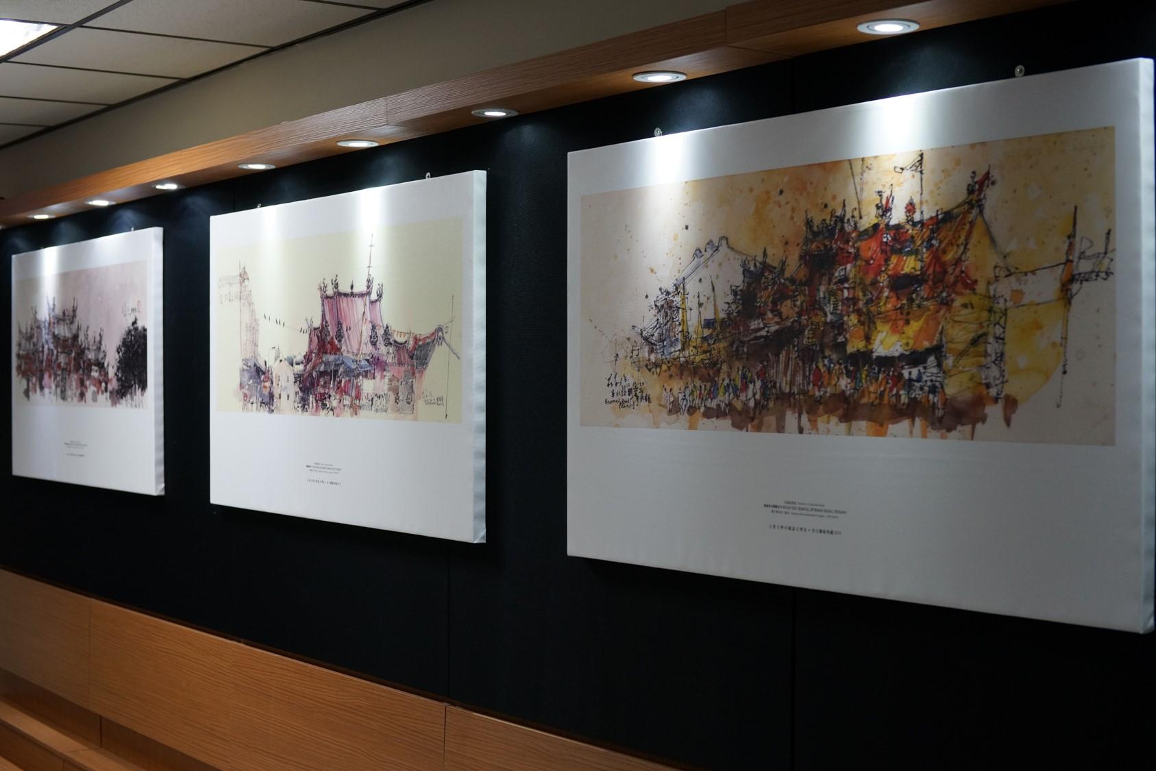中語系藝文走廊